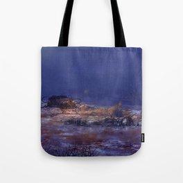 Hitch Hiker Tote Bag