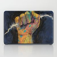 lightning iPad Cases featuring Lightning by Michael Creese