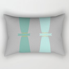 Two Totems Rectangular Pillow