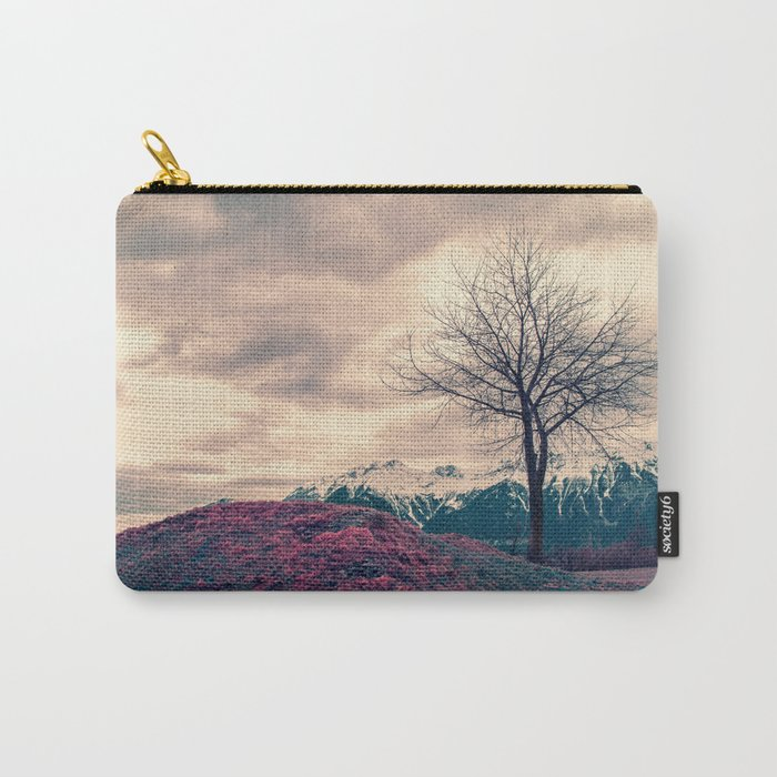 Japanese Mountains Carry-All Pouch