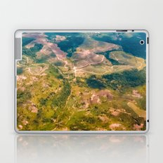 Land from the sky Laptop & iPad Skin