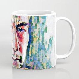 Sergei Rachmaninoff (Serghei Rahmaninov) in 1921 (digitized photography) Coffee Mug