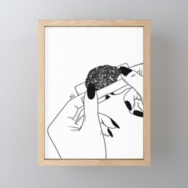 Rolling your mind (G) Framed Mini Art Print