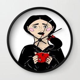 Snow White's Last Bite Wall Clock