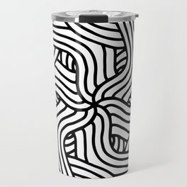 Overlapping Tangles Travel Mug