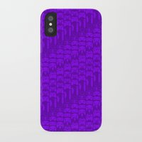 video game iPhone & iPod Cases featuring Video Game Controllers - Purple by C.Rhodes Design