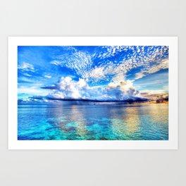 Fiji Islands  Art Print