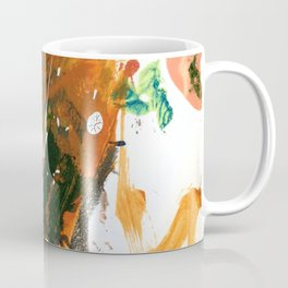Untitled Abstract-Temper Coffee Mug