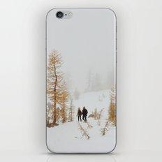 Walking in Larch Land iPhone & iPod Skin
