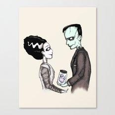 FrankenHeart Canvas Print
