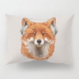 The Musical Fox Pillow Sham
