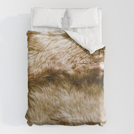 Fluffy Fur (NOT REAL FUR/PHOTO OF FUR) Comforters