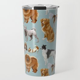 Who Let The Dogs Out? Travel Mug