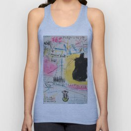 Simona's Eyes Unisex Tank Top