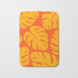 Monstera Leaf Print 1 Bath Mat