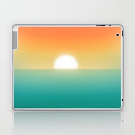 Into the horizon Laptop & iPad Skin