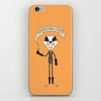 badger iPhone & iPod Skins featuring Badger by Derek Eads