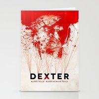 dexter Stationery Cards featuring DEXTER by Michael Scott Murphy
