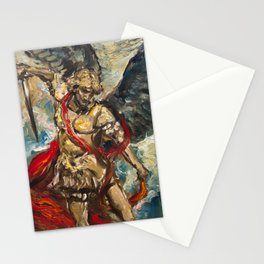Saint Michael the Archangel II Stationery Cards