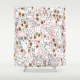 Suits You Shower Curtain