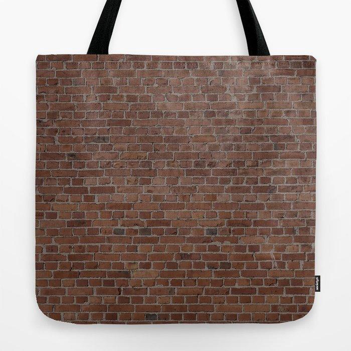 NYC Big Apple Manhattan City Brown Stone Brick Wall Tote Bag