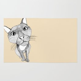 BigHead Cat Rug