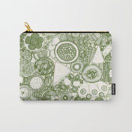 vegetarian party platter green Carry-All Pouch