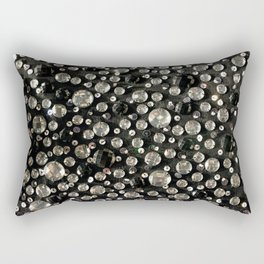 Glass Beads & Sequins Rectangular Pillow