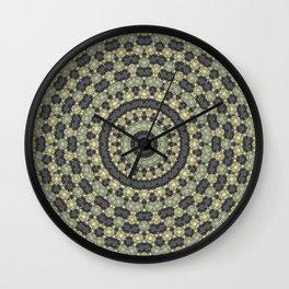 Abstraction, circular pattern Wall Clock