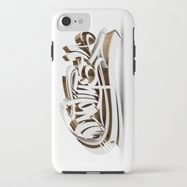 """NO TIME"" iPhone Case"