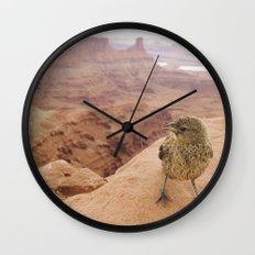 Desert Bird Wall Clock