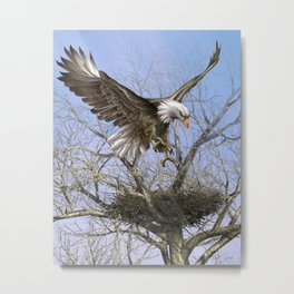 The Arrival Metal Print