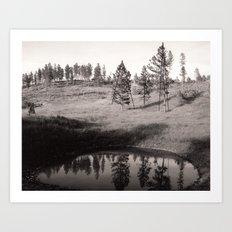 Black Hills Art Print