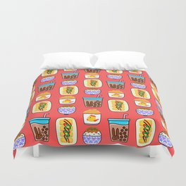 Lovely Comforts in Taiwan Duvet Cover