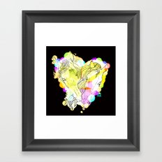 LOVERS Framed Art Print