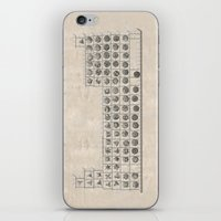 periodic table iPhone & iPod Skins featuring Periodic table by Florian Pasquier