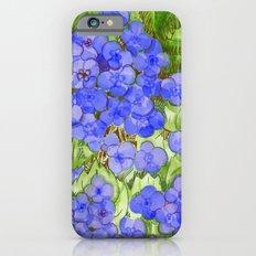 Hydrangeas Slim Case iPhone 6