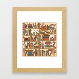 Bookshelf No. 1 Framed Art Print
