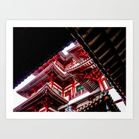 Temple of the Tooth Art Print