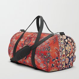 Sarouk Arak West Persian Carpet Print Duffle Bag
