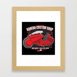 Kaneda Custom Shop Framed Art Print