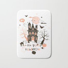 Happy Halloween Bath Mat