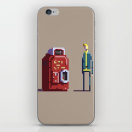 Vault boy and Nuka-Cola iPhone Skin