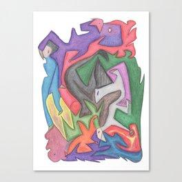 Drawing #74 Canvas Print