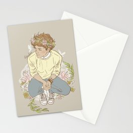 """ The Sun-Kissed Boy "" Stationery Cards"