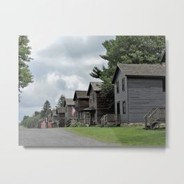 "Eckley Miners' Village - A ""patch town"" Metal Print"