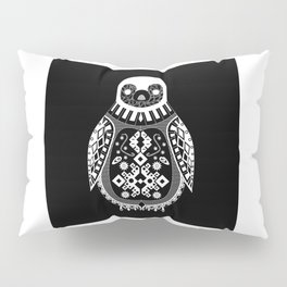 Black Penguin Ecopop Pillow Sham