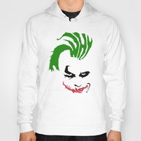 joker Hoodies featuring Joker by The Artist