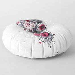 Skeleton Bride Floor Pillow