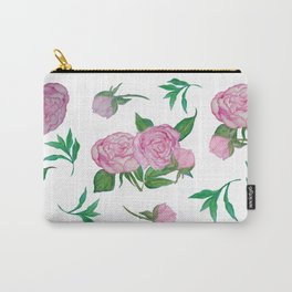 Peonies for loved ones Carry-All Pouch